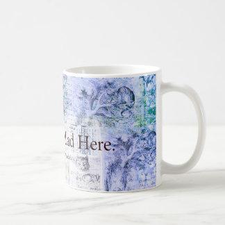 Alice im Wunderland sind wir alle zitieren hier Kaffeetasse
