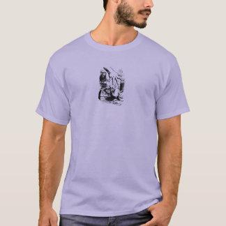 Alice im Wunderland und das weiße Kaninchen T-Shirt