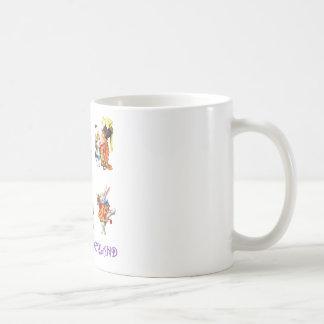 Alice im Wunderland und ihre Freunde Kaffeetasse