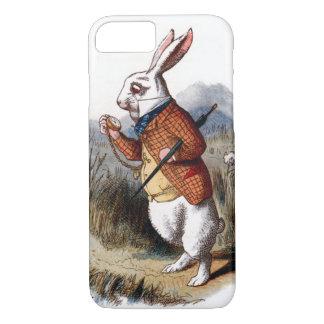 Alice im Wunderland-weißer Kaninchen iPhone 7 iPhone 7 Hülle
