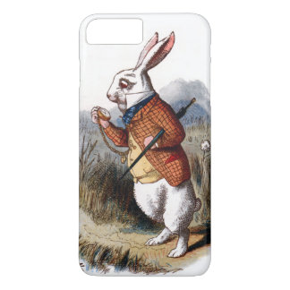 Alice im Wunderland-weißes Kaninchen iPhone 7 Plus iPhone 7 Plus Hülle