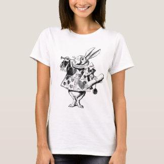 Alice im Wunderland - weißes Kaninchen T-Shirt