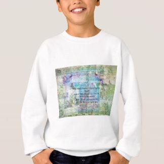 Alice im Wunderland-wunderliches Bonkers Zitat Sweatshirt