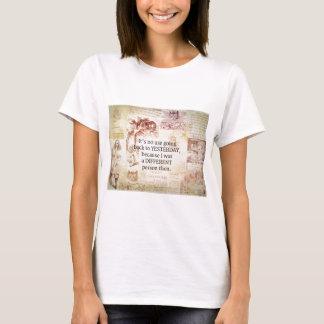 Alice im Wunderland-wunderliches Zitat T-Shirt