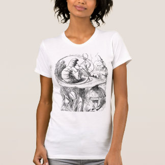 Alice in Märchenland-D Raupe T-Shirt