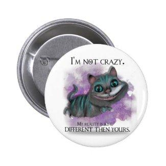 Alice in Wonderland button. Button