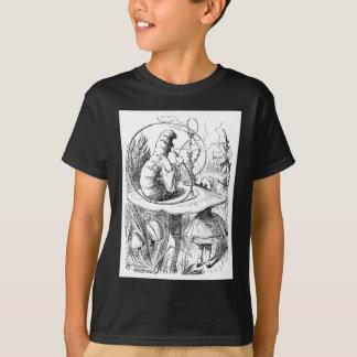 Alice konsultiert die Raupe T-Shirt