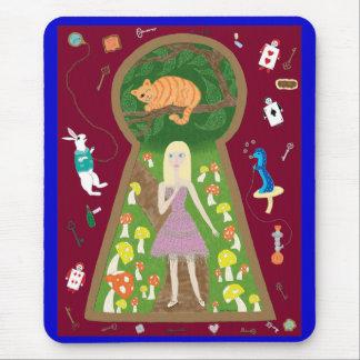 Alice (Märchen-Mode-Reihe #4) Mauspads