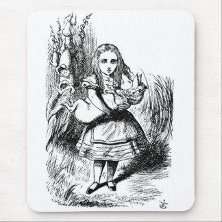 Alice mit dem Schwein Mauspad