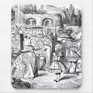 Alice mit der roten Königin Mauspads