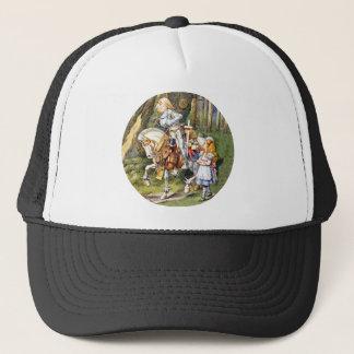 Alice trifft den weißen Ritter im Märchenland Truckerkappe