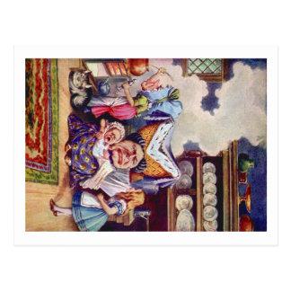 Alice trifft die Herzogin und das Pic-Baby Postkarte