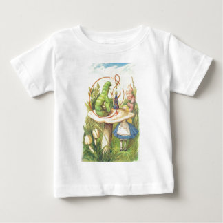 Alice trifft die Raupe Baby T-shirt
