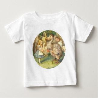 Alice u. die Dodo-Farbe Baby T-shirt