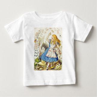 Alice u. die Karten farbenreich Baby T-shirt