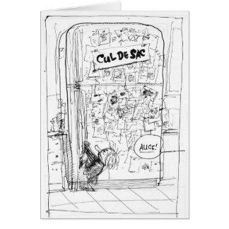 Alice u. die Kühlschrank-Karte Karte