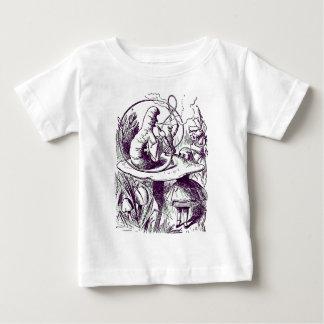 Alice u. die Raupe Baby T-shirt