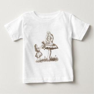 Alice u. die Raupe durch Lewis Carroll Baby T-shirt