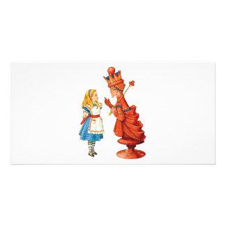 Alice u. die rote Königin Bildkarten