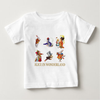 Alice u. Freunde im Märchenland Baby T-shirt