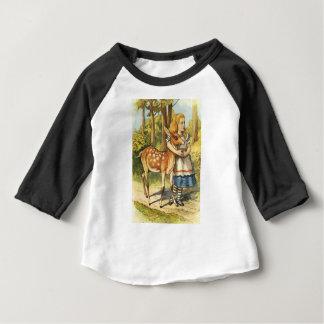 Alice und das Kitz Baby T-shirt
