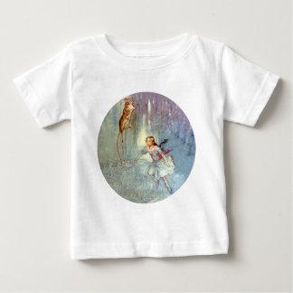 Alice und das MäuseSchwimmen im Pool der Risse Baby T-shirt