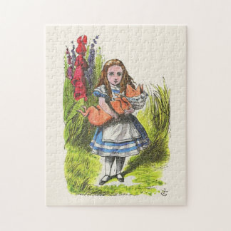 Alice und das Schwein-Baby 2 Puzzle