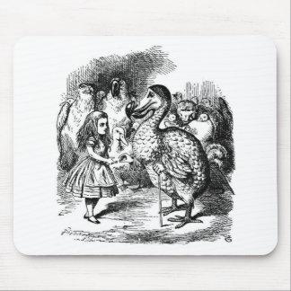 Alice und der Dodo Mousepad