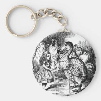 Alice und der Dodo Schlüsselanhänger
