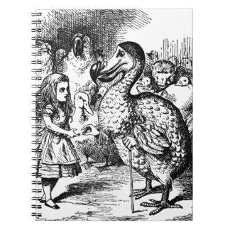 Alice und der Dodo Spiral Notizblock