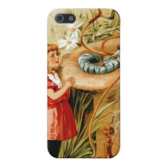 Alice und der Raupe iPhone 4 Fall iPhone 5 Cover