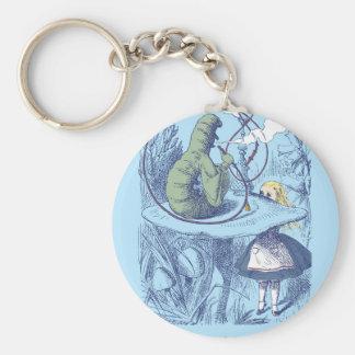 Alice und die Raupe Keychain Schlüsselanhänger