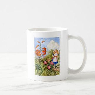 Alice und die sprechenBlumen im Märchenland Kaffeetasse