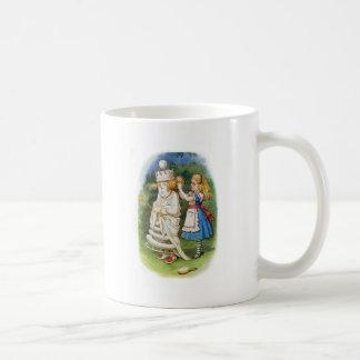 Alice und die weiße Königin Kaffeetasse