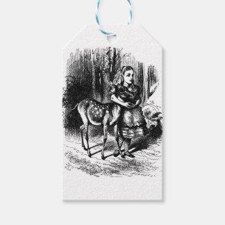 Alice und ein Kitz Geschenkanhänger