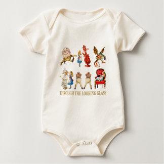 Alice und ihre Freunde im Märchenland Baby Strampler