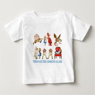 Alice und ihre Freunde im Märchenland Baby T-shirt