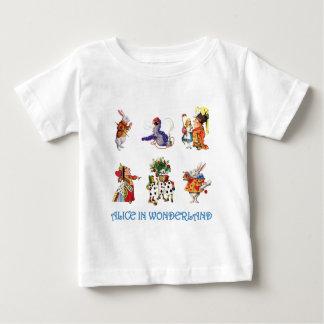 Alice und ihre Freunde vom Märchenland Baby T-shirt