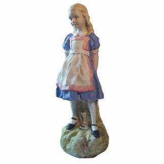 Alice-Verzierung Fotoskulptur Ornament