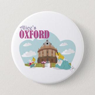 Alices Oxford-Abzeichen Runder Button 7,6 Cm