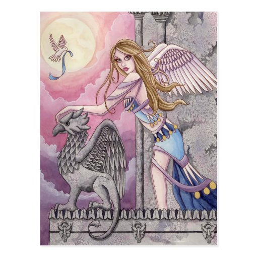 Alicia - Engels-Postkarte