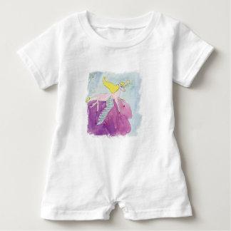 Alicorn Winged rosa Pony-Pferd Baby Strampler