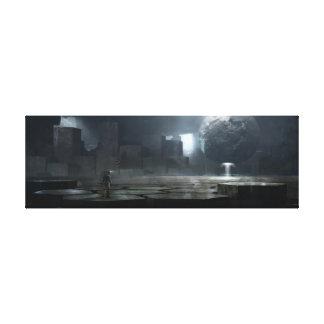 Alien-Artefakt Leinwanddruck