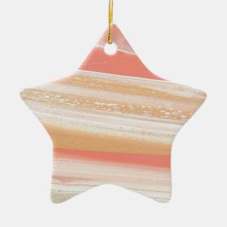 Alien-Atmosphäre Keramik Stern-Ornament