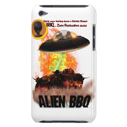 Alien BB-q 2 Fall Case-Mate iPod Touch Case
