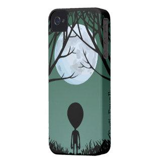 Alien-BlackBerry-Kasten niedliches Case-Mate iPhone 4 Hüllen