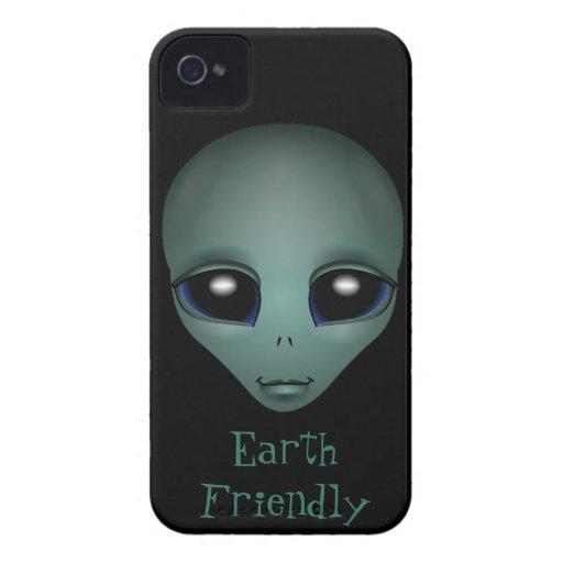 Alien-BlackBerry-Kasten niedliches iPhone 4 Etuis