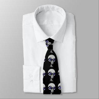 Alien, die grauen Krawatte der Männer