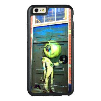 Alien DJ-Straßen-Kunst-Otter-Kasten cool OtterBox iPhone 6/6s Plus Hülle