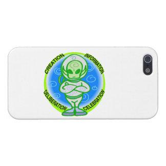 Alien-Feier iPhone 5 Cover